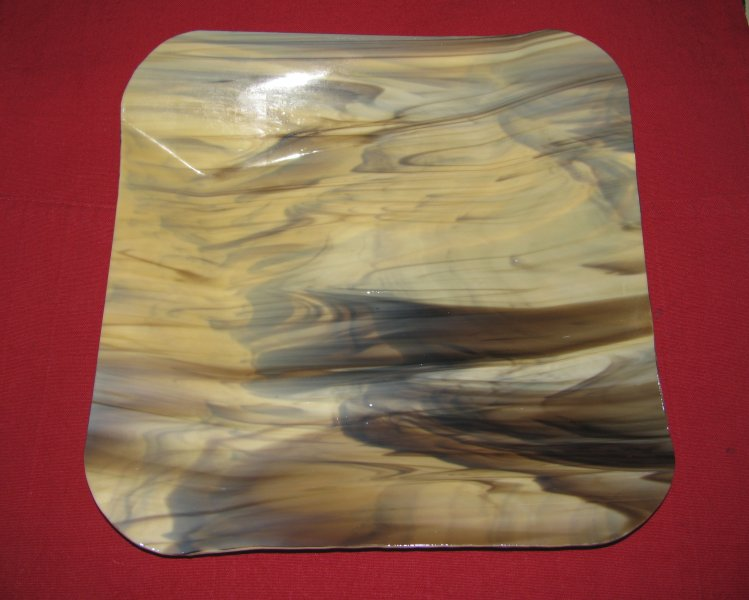 Slumped Glass Plate